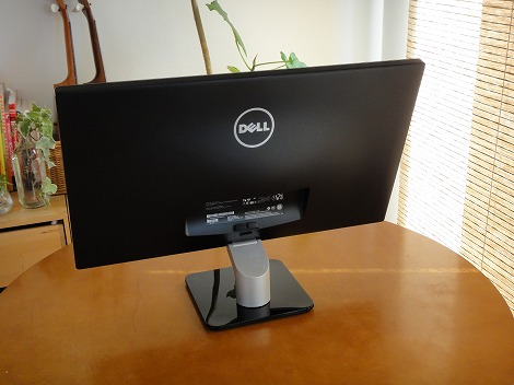 Dell S2440L背面部
