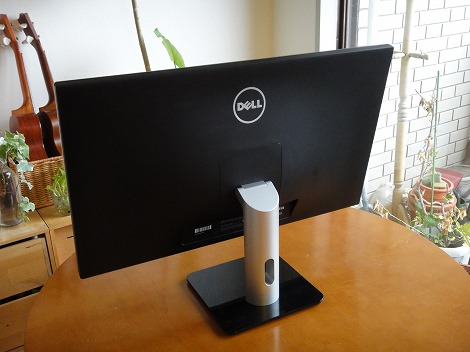 Dell S2740L背面部